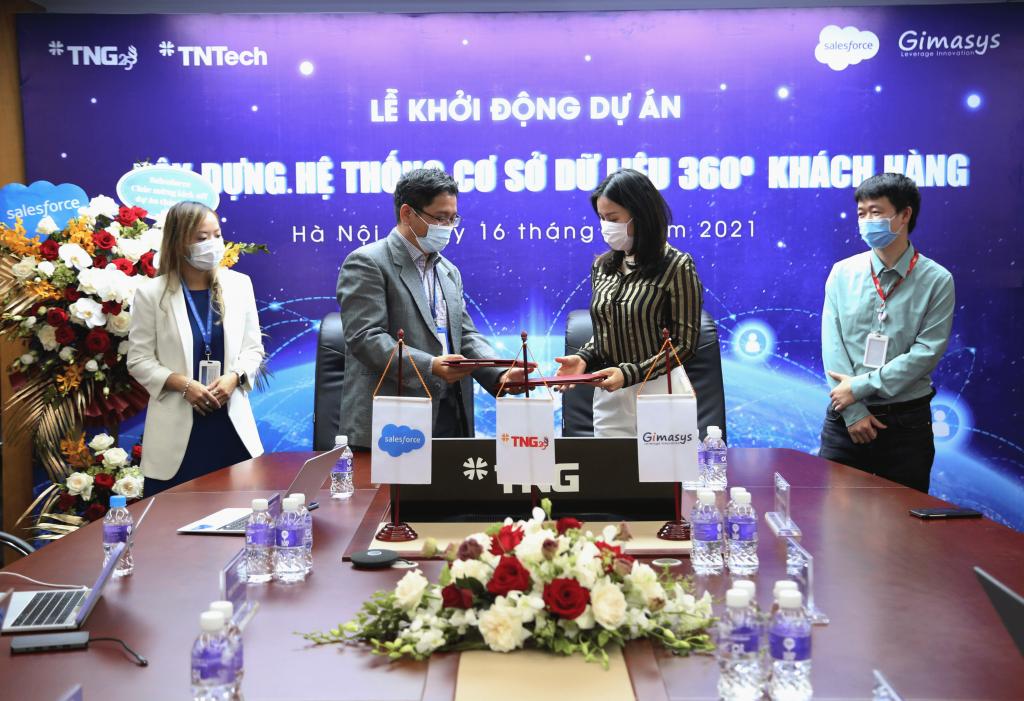 """Gimasys triển khai dự án """"Xây dựng hệ thống cơ sở dữ liệu 360 độ khách hàng"""" cho TNG Holdings Vietnam"""